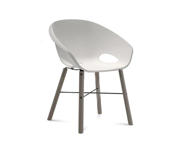 Jídelní židle Globe-L - Jídelní židle (antracit lak, antracit lak, bílá)