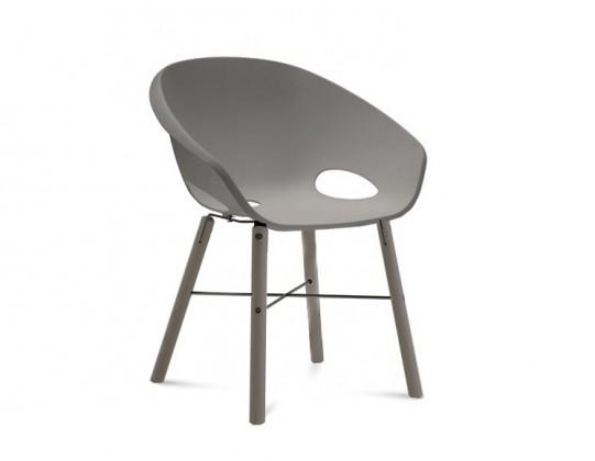 Jídelní židle Globe-L - Jídelní židle (antracit lak, antracit lak, písková)