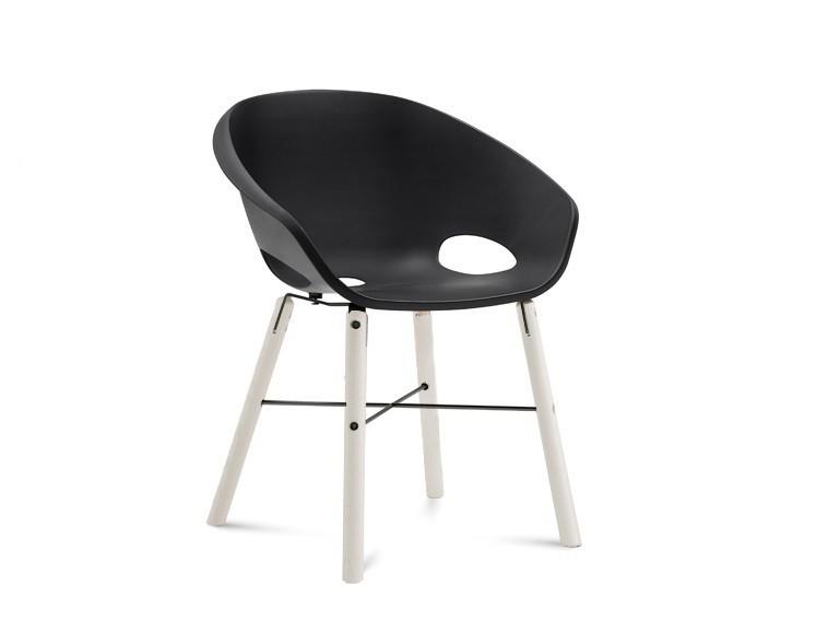 Jídelní židle Globe-L - Jídelní židle (bílý lak, antracit lak, černá)
