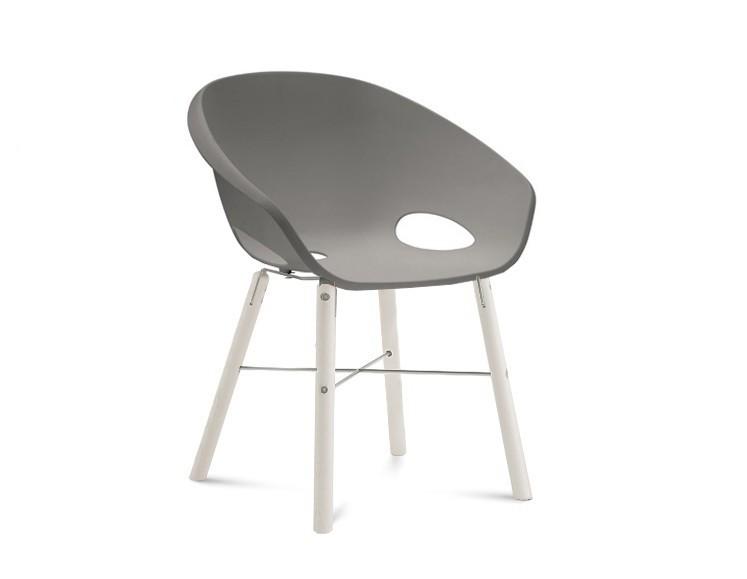 Jídelní židle Globe-L - Jídelní židle (bílý lak, hliník, písková)