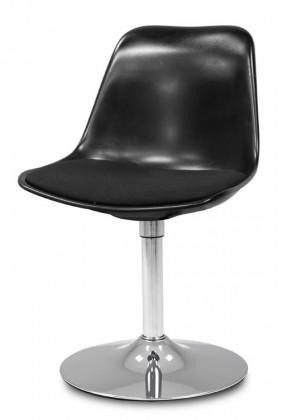 Jídelní židle GRACE 9360-124+TRUMPET 9341-091 (černá,chrom)