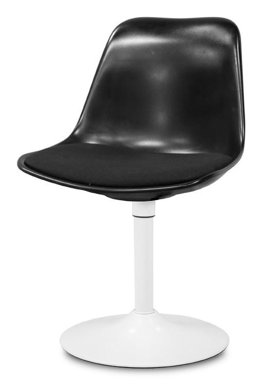 Jídelní židle GRACE 9360-124+TRUMPET 9341-801 (černá,bílá)