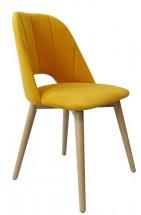Jídelní židle Grede (dub sonoma, žlutá)
