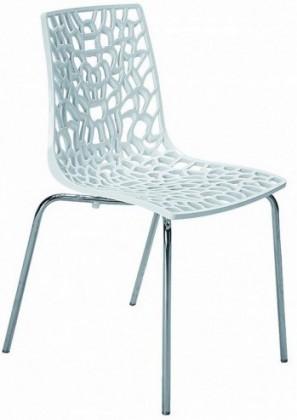 Jídelní židle Groove(bianco)