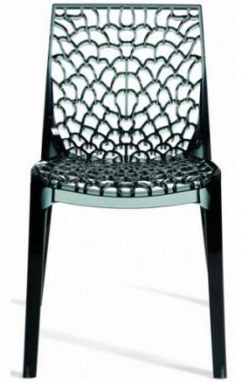 Jídelní židle Gruvyer(antracite transparente)