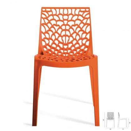 Jídelní židle Gruvyer(arancio)