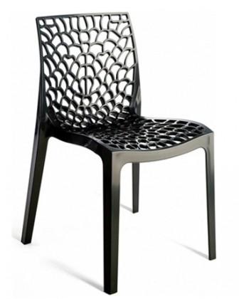 Jídelní židle Gruvyer (černá)