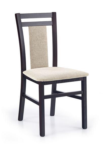 Jídelní židle Hubert 8  (béžová vila 2, wenge)