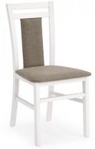 Jídelní židle Hubert 8 (šedo-béžová inari 23, bílá)