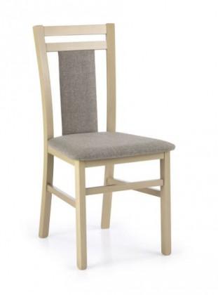 Jídelní židle Hubert 8  (šedo-béžová inari 23, dub sonoma)