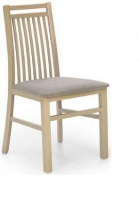 Jídelní židle Hubert 9  (šedo-béžová inari 23, dub sonoma)