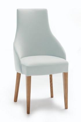 Jídelní židle Isabela (dub/eko kůže vienna šedá)
