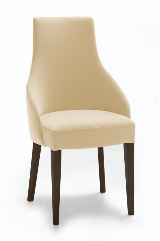 Jídelní židle Isabela (wenge/látka carabu světle hnědá)