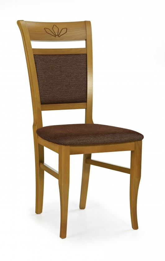 Jídelní židle Jakub (olše/hnědá torent)