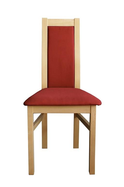 Jídelní židle Jídelní židle Agáta, sonoma, bordó