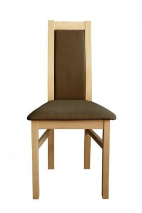 Jídelní židle Jídelní židle Agáta sonoma, hnědá