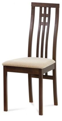 Jídelní židle Jídelní židle Alora krémová, ořech