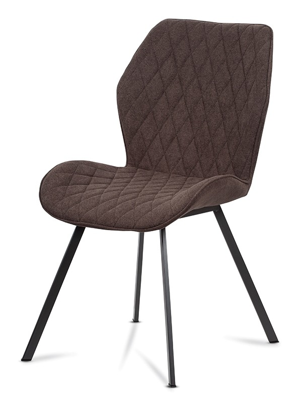 Jídelní židle Jídelní židle Barbosa (hnědá, šedá)