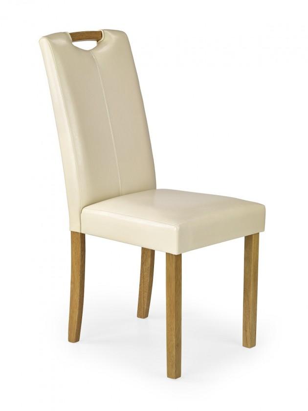 Jídelní židle Jídelní židle Caro (krémová, buk)