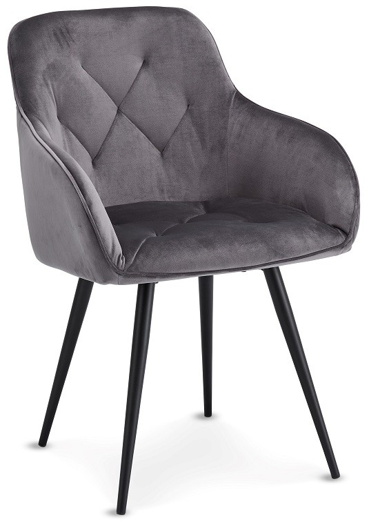 Jídelní židle Jídelní židle Fergo šedá, černá