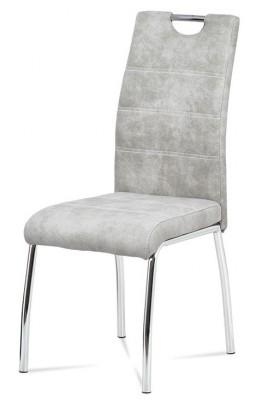 Jídelní židle Jídelní židle Gasela stříbrná/chrom