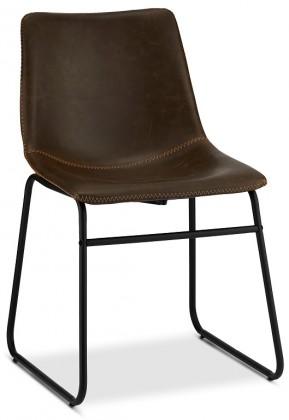 Jídelní židle Jídelní židle Guaro tmavě hnědá, černá