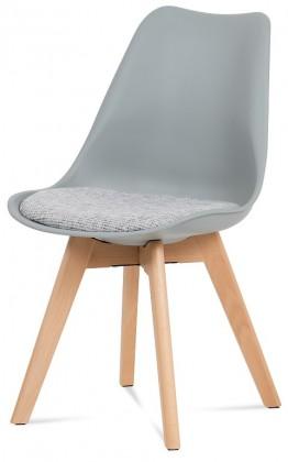 Jídelní židle Jídelní židle Lupa šedá