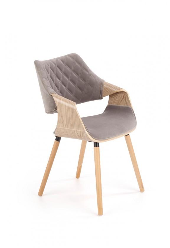 Jídelní židle Jídelní židle Manza šedá