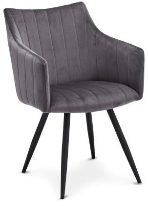 Jídelní židle Jídelní židle Mijas šedá, černá