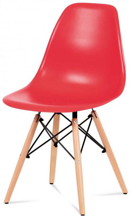 Jídelní židle Jídelní židle Mila červená