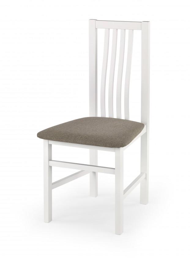 Jídelní židle Jídelní židle Pawel hnědá, bílá