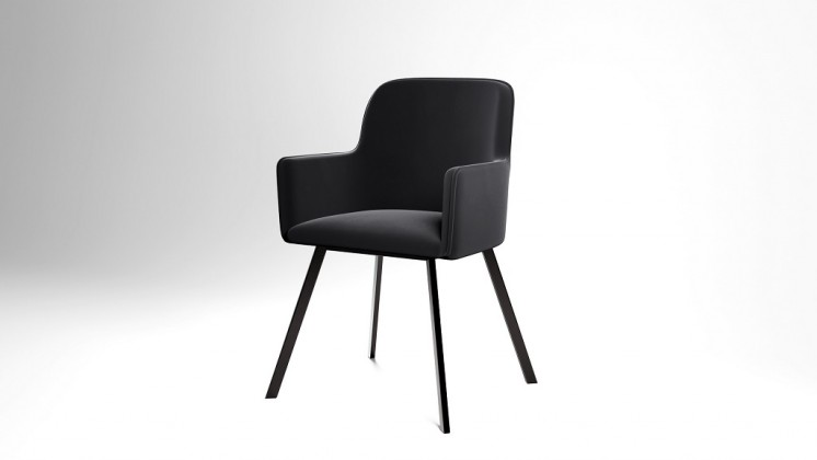 Jídelní židle Jídelní židle Vian černá