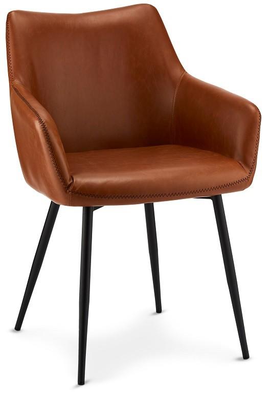 Jídelní židle Jídelní židle Zalea hnědá, černá