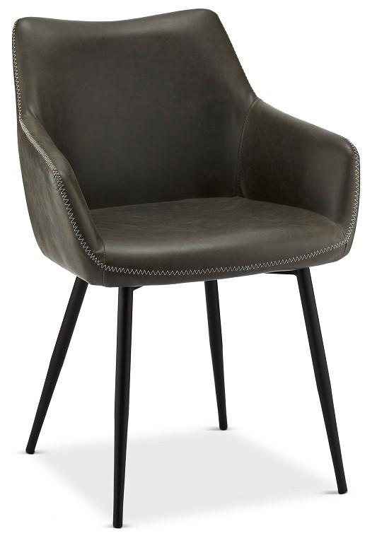 Jídelní židle Jídelní židle Zalea šedá, černá