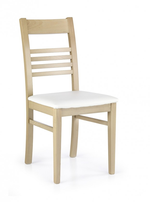 Jídelní židle Juliusz  (bílá madryt 121, dub sonoma)