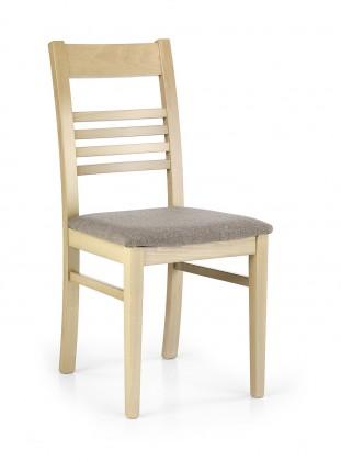 Jídelní židle Juliusz  (šedo-béžová inari 23, dub sonoma)