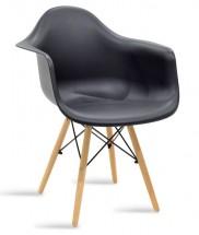Jídelní židle Justy dub, černá
