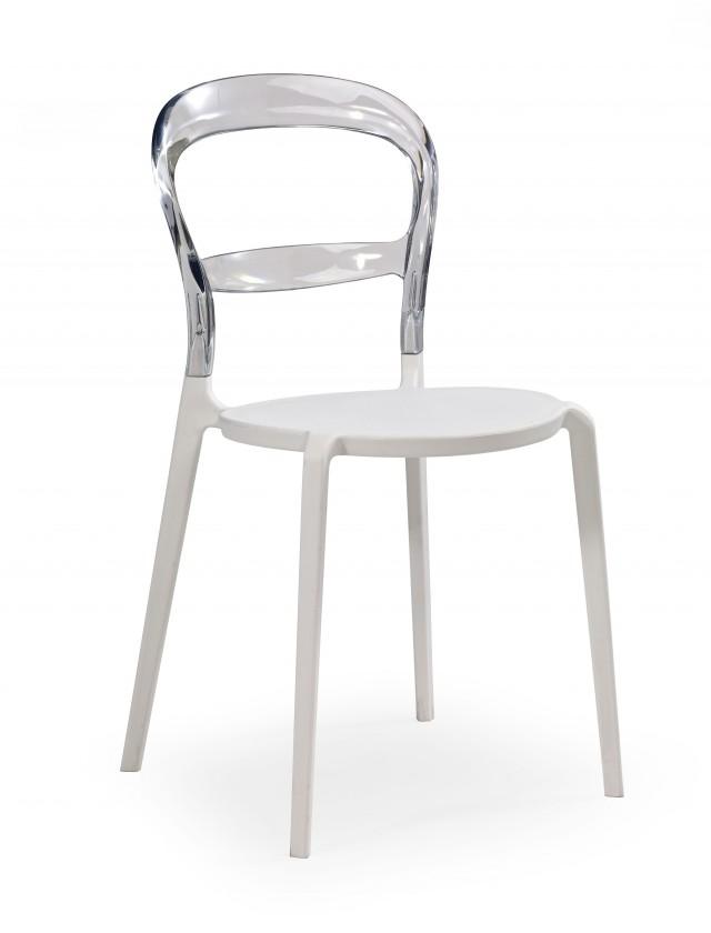 Jídelní židle K100 (bezbarvá)