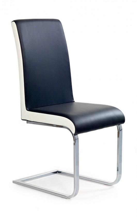 Jídelní židle K103 (černá/bílá)
