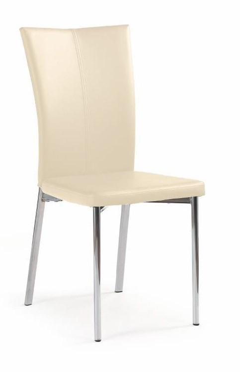 Jídelní židle K113 - Jídelní židle (tmavý krém)