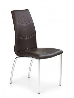 Jídelní židle K114 (hnědá)