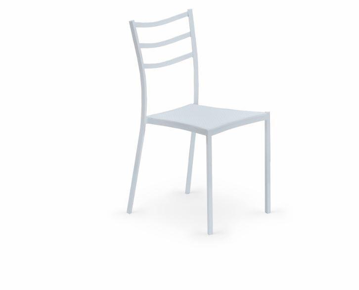Jídelní židle K159  (bílá, bílá)