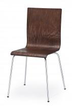 Jídelní židle K167 (wenge,ocel)
