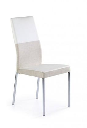Jídelní židle K173 (bílobéžová)