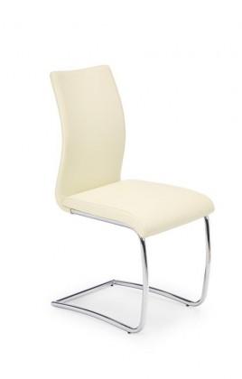 Jídelní židle K180 (tmavý krém)