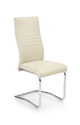 Jídelní židle K183 (tmavý krém)