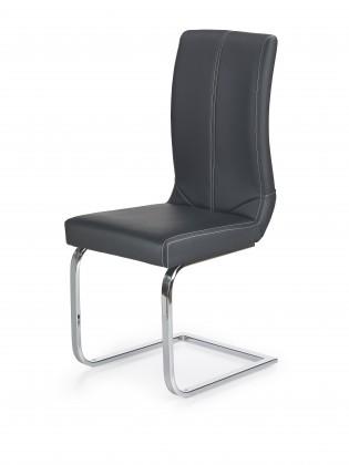 Jídelní židle K219 - Jídelní židle (černá, stříbrná)
