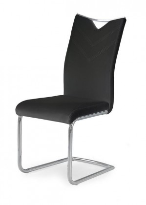 Jídelní židle K224 - Jídelní židle (černá, stříbrná)