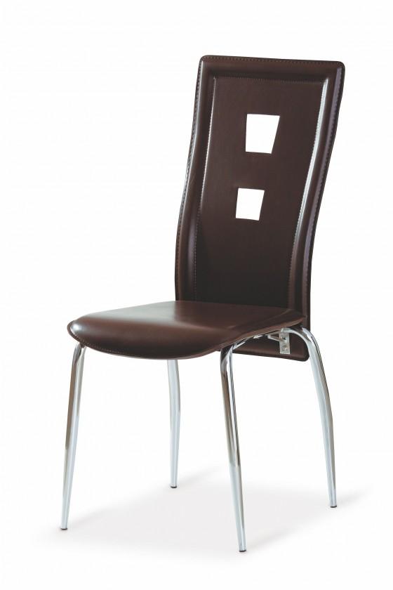 Jídelní židle K25 (hnědá)