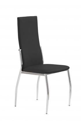 Jídelní židle K3  (chrom,černá)